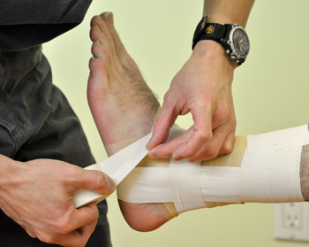 Taping Bracing Physiotherapy